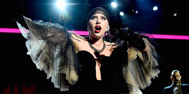 Lady Gaga, Just Dance, Concert, charity, gala, David Bowie, April, 2016, space, beach, GagaINspace, hot, sex, naked, nude, no cloths, costume221